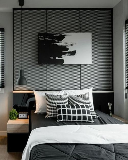 12 Stylish Industrial Style Bedroom Design Ideas 28