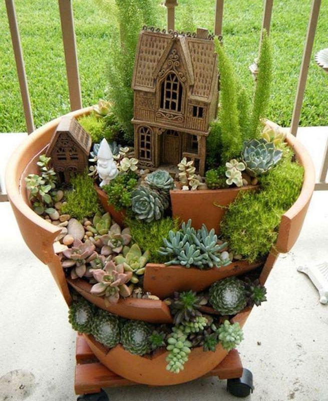 13 Brilliant Flower Pots Ideas For Your Garden 10