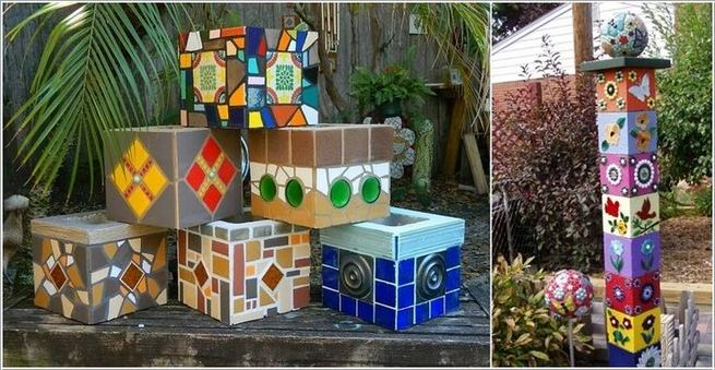 13 Creative Ways To Decorate Your Garden Home Using Cinder Blocks 18