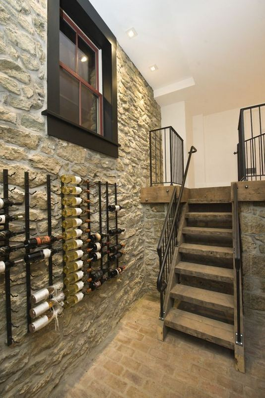 13 Stunning Industrial Wall Wine Rack Designs Ideas 24