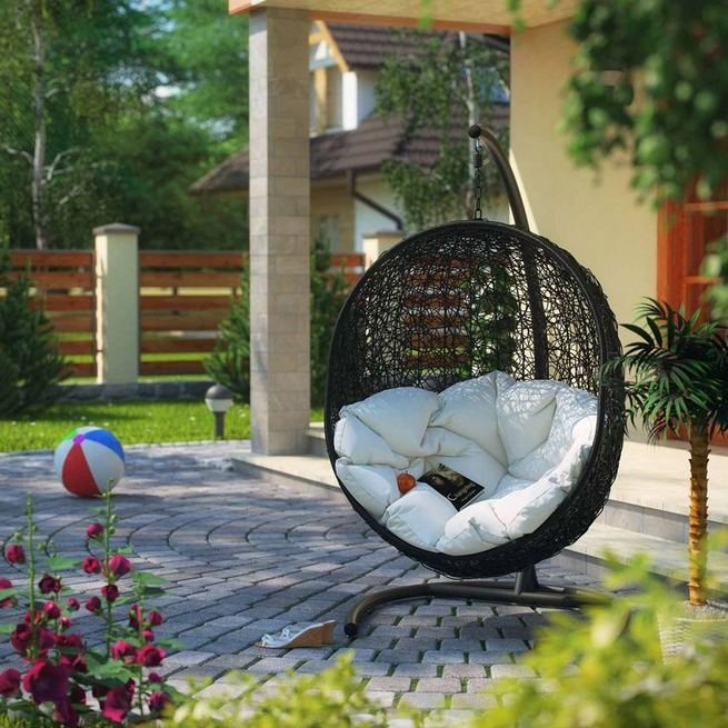 14 Cozy Swing Chairs Garden Ideas 16