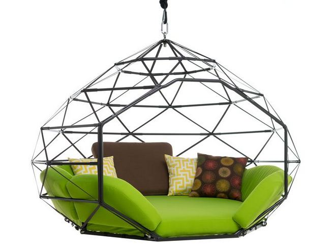 14 Cozy Swing Chairs Garden Ideas 24