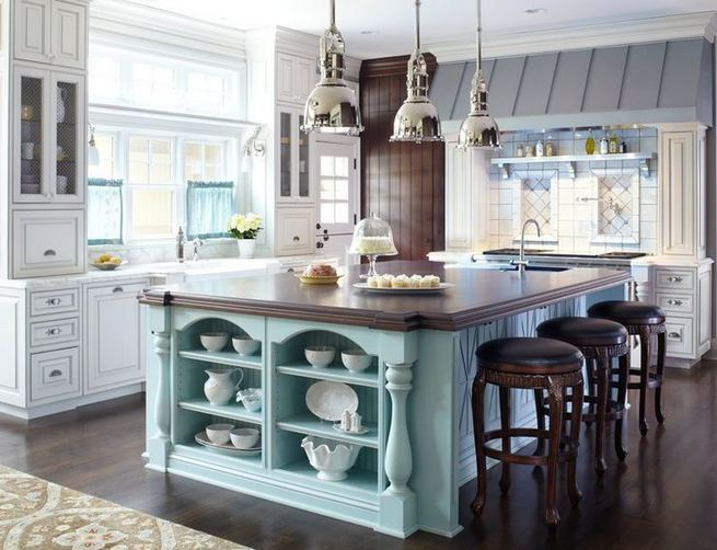 14 Stunning Vintage Wooden Kitchen Island Decor Ideas 39