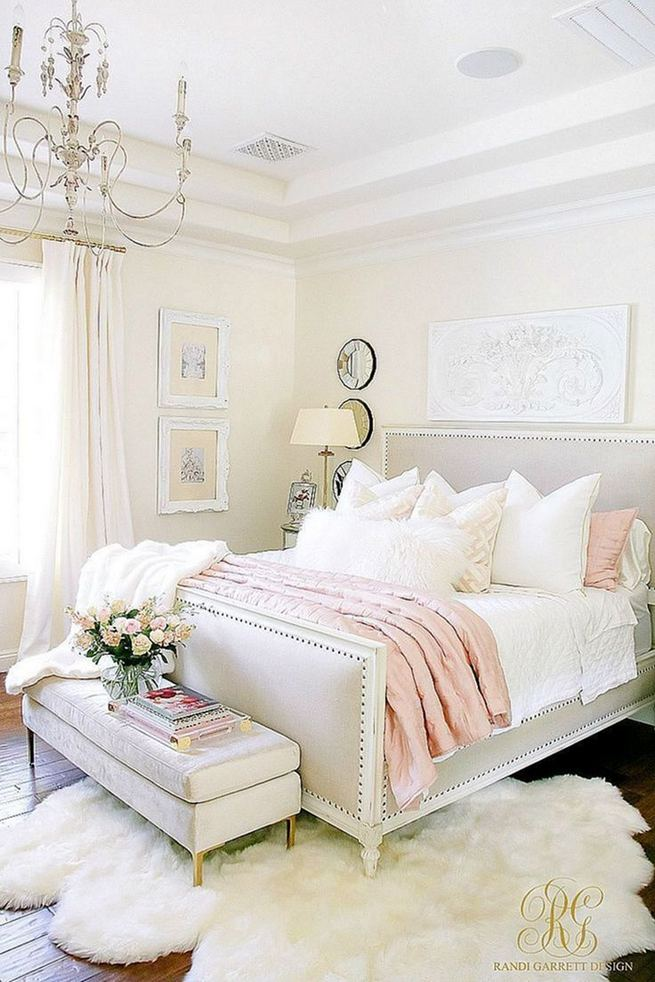 15 Fascinating White Bedroom Design Ideas 22