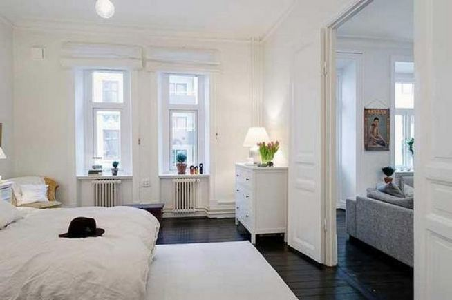 15 Fascinating White Bedroom Design Ideas 24