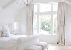 15 Fascinating White Bedroom Design Ideas 34