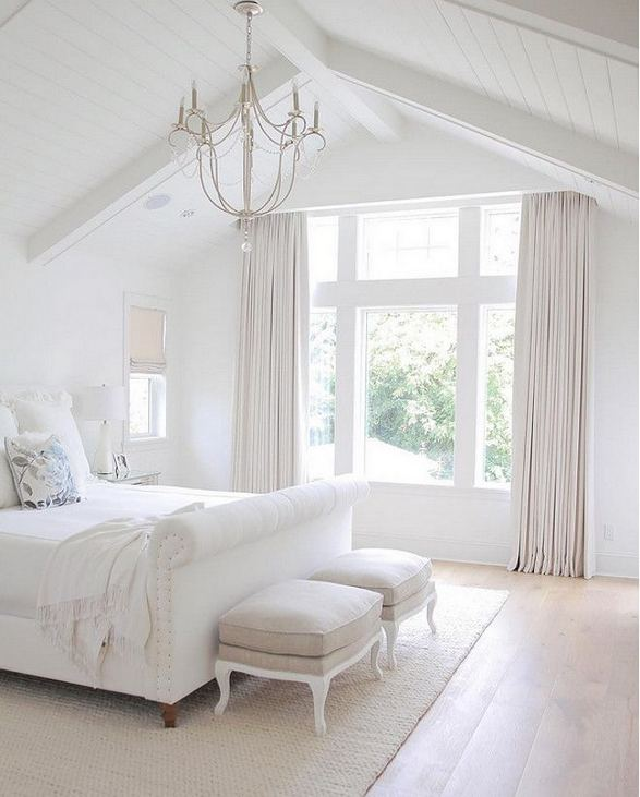 15 Fascinating White Bedroom Design Ideas 34