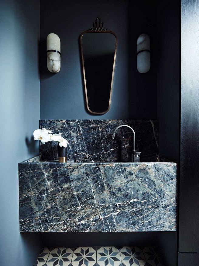 15 Inspiring Marble Bathroom Sink Designs For Your Luxury Home 35