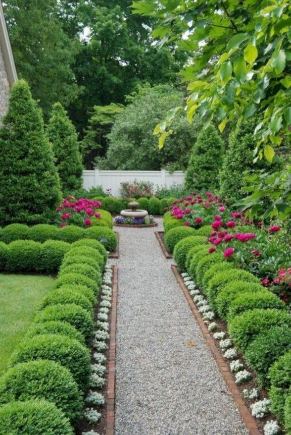 15 Popular Rock Pathway Design Ideas Enhance Beautiful Garden 10