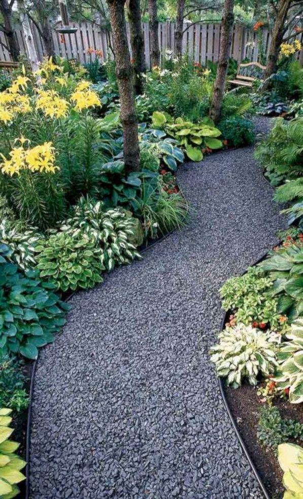 15 Popular Rock Pathway Design Ideas Enhance Beautiful Garden 11