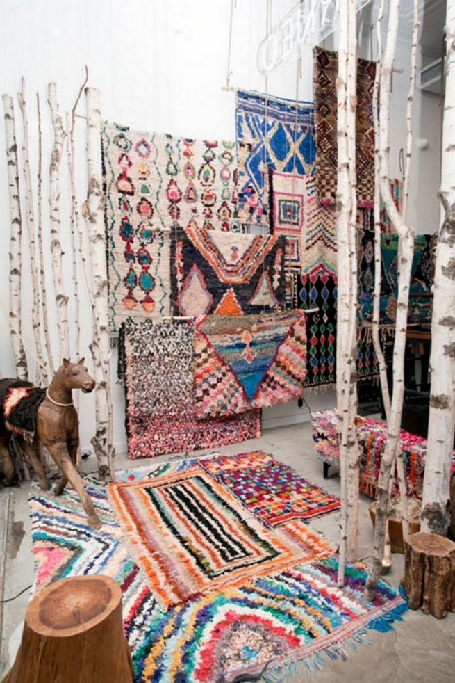 16 Awesome Colorful Moroccan Rugs Decor Ideas 26