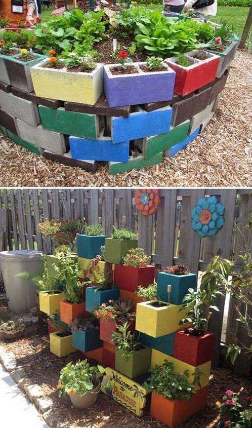 16 Creative DIY Tall Pots Planters Ideas For Modern Garden 08