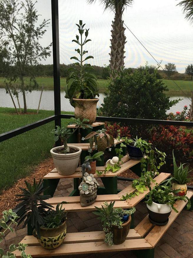 16 Creative DIY Tall Pots Planters Ideas For Modern Garden 23