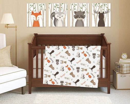 16 Popular Baby Boy Nursery Room With Animal Designs 07