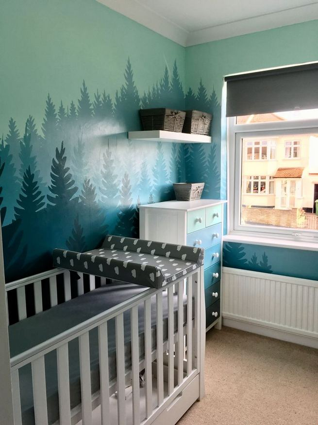 16 Popular Baby Boy Nursery Room With Animal Designs 28