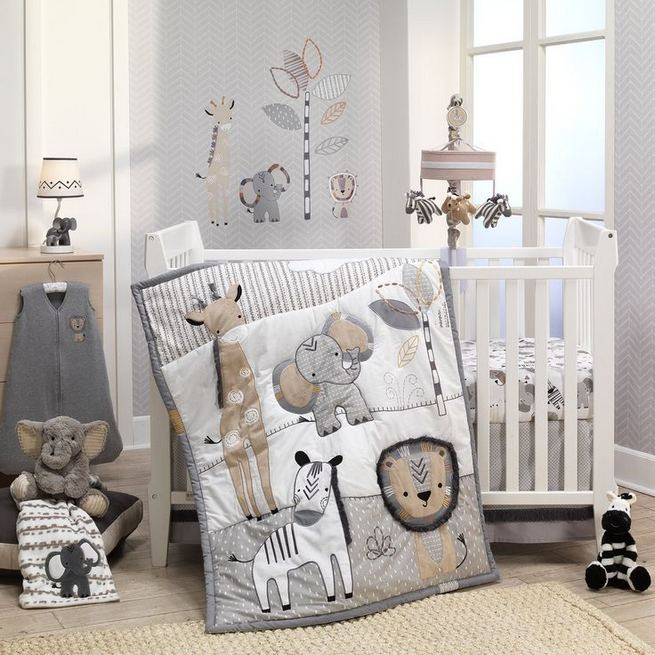16 Popular Baby Boy Nursery Room With Animal Designs 38