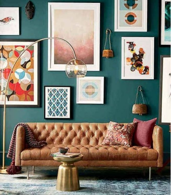 18 Adorable Industrial Floor Lamp Ideas For Living Room 06
