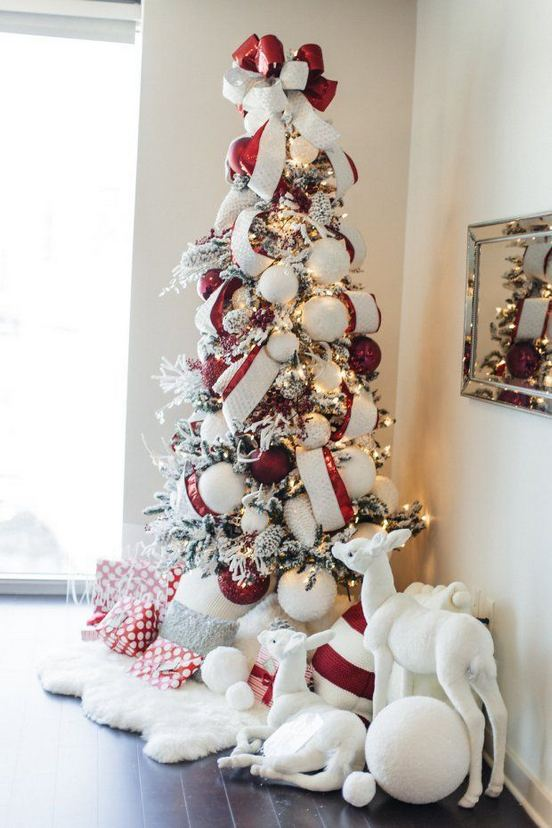 11 Pretty Ideas Christmas Tree Themes Home Decor Everyday 20