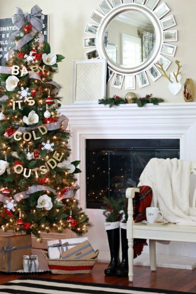 11 Pretty Ideas Christmas Tree Themes Home Decor Everyday 38