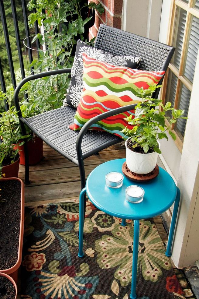 12 Creative Small Apartment Balcony Decorating Ideas On A Budget 12