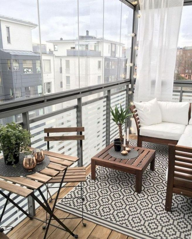 12 Creative Small Apartment Balcony Decorating Ideas On A Budget 13