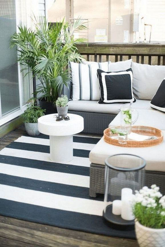 12 Creative Small Apartment Balcony Decorating Ideas On A Budget 17