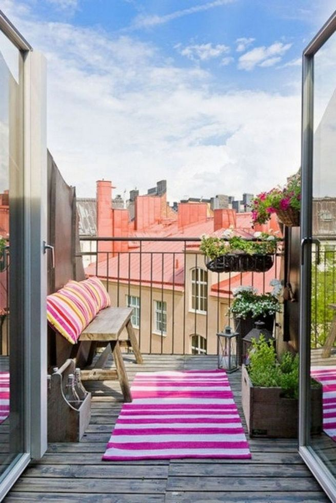 12 Creative Small Apartment Balcony Decorating Ideas On A Budget 26