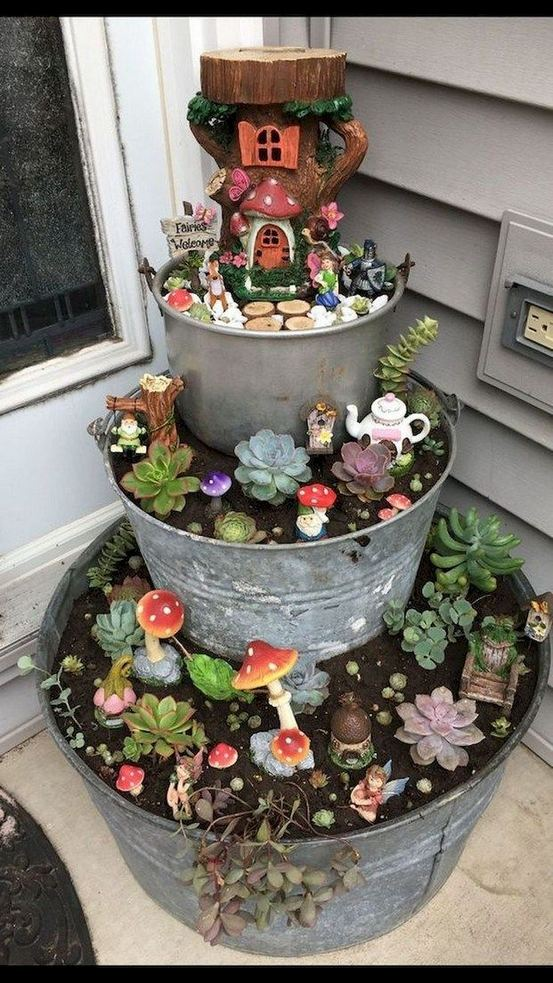 12 Enchanting Fairy Garden Best Ideas 01