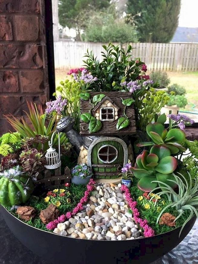 12 Enchanting Fairy Garden Best Ideas 20