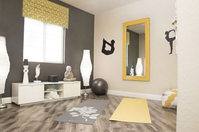 13 Beautiful Fitness Room Design Ideas 18