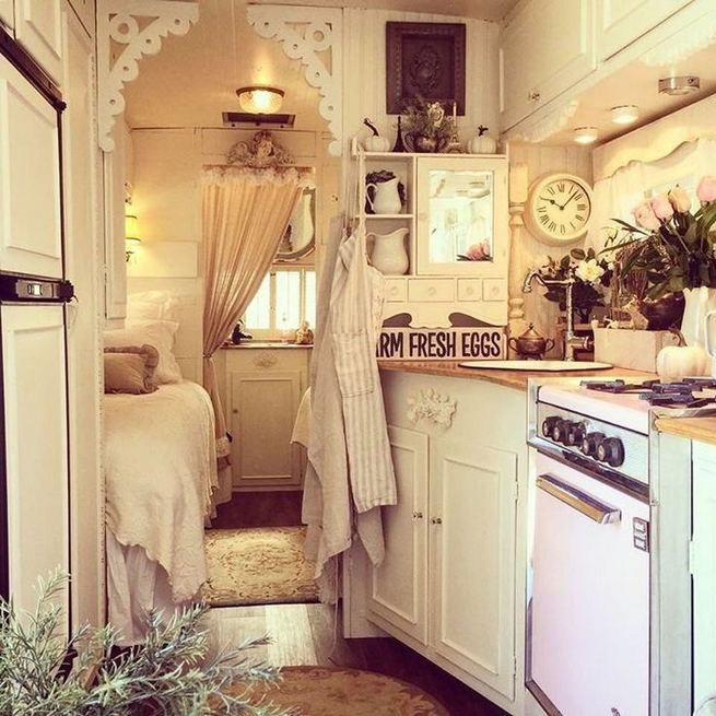 13 Best Travel Trailers Remodel Rv Living Ideas 03