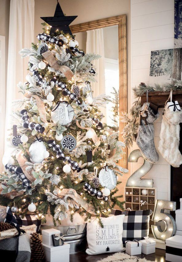 13 Stunning Black Christmas Decorations Ideas 15