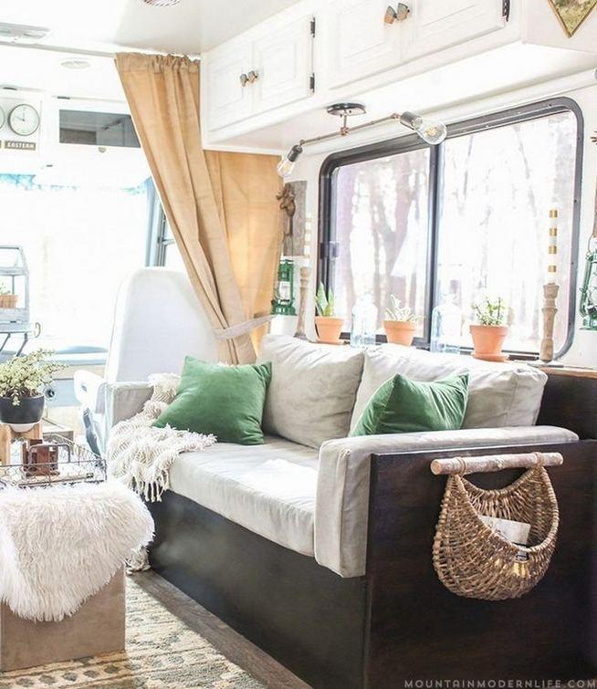 14 Best RV Camper Van Interior Decorating Ideas 26