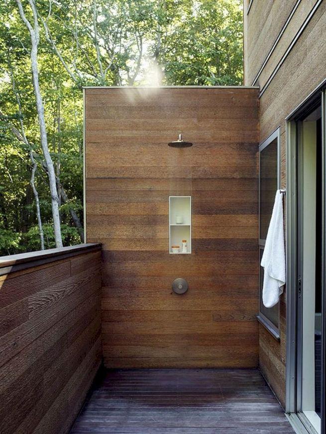 14 Gorgeous Modern Outdoor Shower Ideas For Best Inspiration 35
