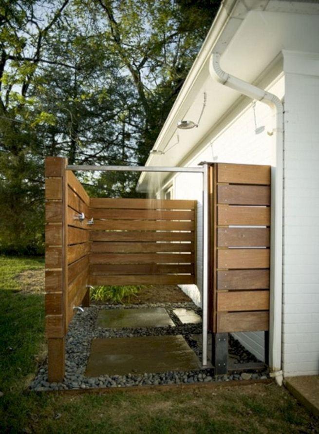 14 Gorgeous Modern Outdoor Shower Ideas For Best Inspiration 38