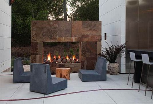 15 Amazing Outdoor Fireplace Design Ever 21
