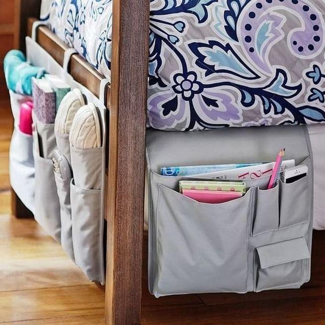 16 Creative Dorm Room Storage Organization Ideas On A Budget 41