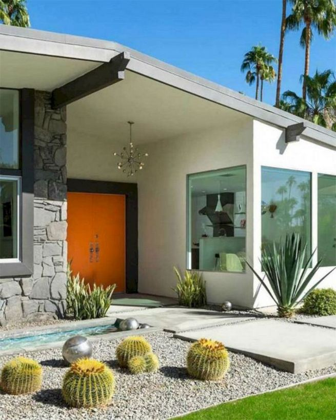 16 Most Beautiful Mid Century Modern Backyard Design Ideas 24