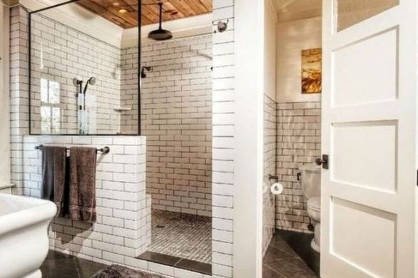 17 Cool Small Master Bathroom Remodel Ideas 06