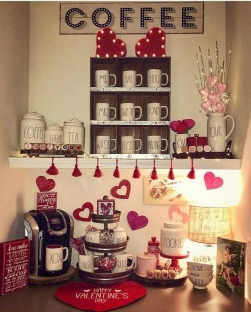 17 Stunning Apartment Valentines Decorations Ideas 37