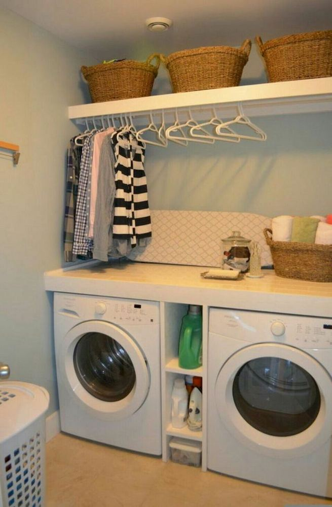 17 Top Cozy Small Laundry Room Design Ideas 06