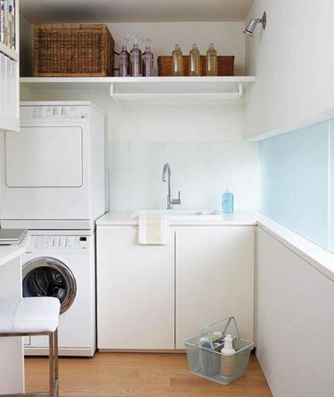 17 Top Cozy Small Laundry Room Design Ideas 13