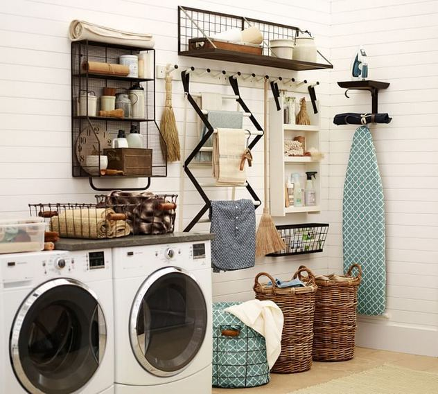 17 Top Cozy Small Laundry Room Design Ideas 18