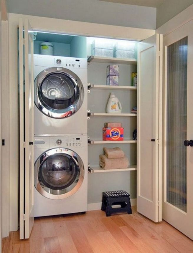 17 Top Cozy Small Laundry Room Design Ideas 28