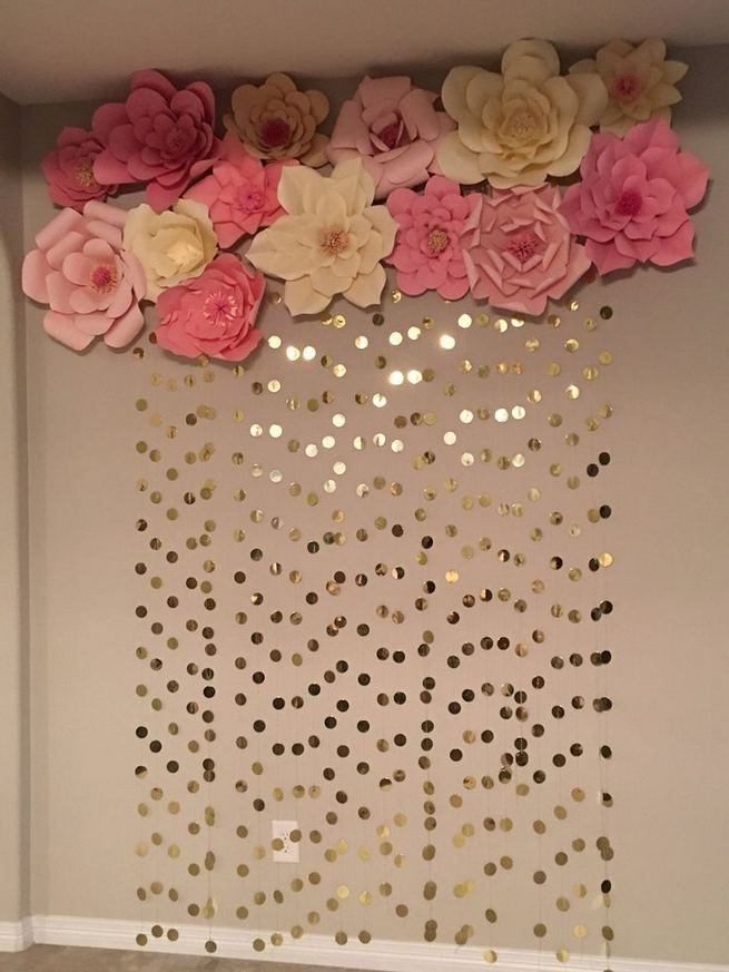 18 Beautiful Flower Wall Decor Ideas Creative Wall Decor Ideas 01