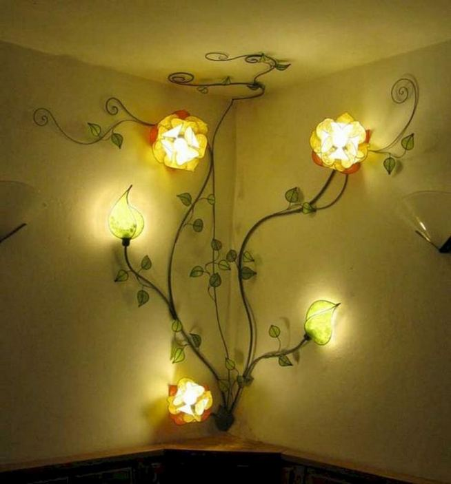 18 Beautiful Flower Wall Decor Ideas Creative Wall Decor Ideas 32