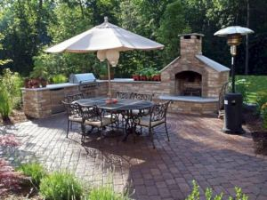 18 Gorgeous Outdoor Fireplaces And Patios Design Ideas For Your Backyard 37