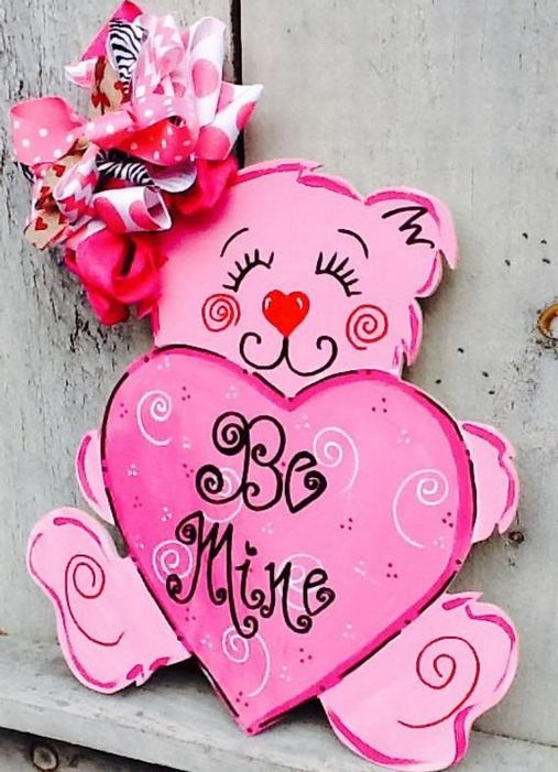 19 Awesome Valentines Signs Design Ideas 02