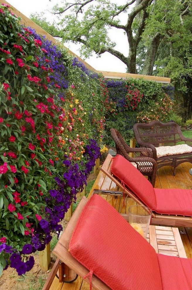 19 Charming DIY Wall Gardens Outdoor Design Best Ideas 30