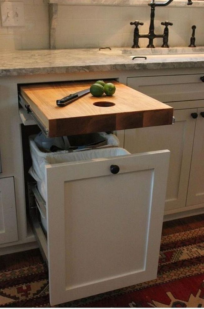 19 Clever Small Kitchen Remodel Open Shelves Ideas 28